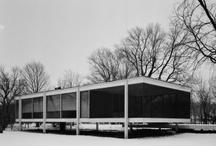archi - Mies van der Rohe / I miei pensieri guidano la mano e la mano dimostra se il pensiero è giusto. Ludwig Mies van der Rohe