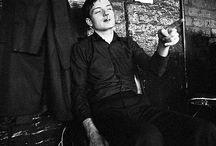 Ian Curtis / A legend. I love Ian with all my heart