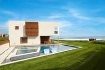 719 Daniels Lane, Sagaponack NY / Exemplary oceanfront living can be found at 719 Daniels Lane in Sagaponack. Methodically constructed over several years, the current owners spared no expense in site design, infrastructure development and finishing of this one-of-a-kind piece of usable art. Located down a private approach servicing seven oceanfront homes, this property is secluded, yet offers the convenience of Sagaponack's pivotal location to enjoy all of the Hamptons different hamlets.