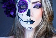 Halloween makeup / by Nicole Bacon