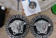 placi ipsos placate cu argint versace