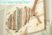 """MADERAS GASTADAS POR EL MAR """"DRIFTWOOD"""" / ¿Qué harás con nuestras bolsas de maderas gastadas por el mar???......."""