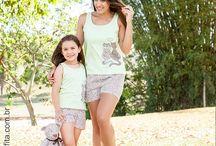 Pijamas Femininos Adulto e Infantil / Confira nossa linha completa de Pijamas Femininos Adulto e Infantil.