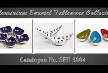 Aluminium Enamel Bowls Collection