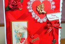 handmade Valentine cards by Card Art Kilcoole
