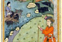 Miniaturen / Perzisch en Indiase miniaturen