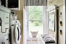 laundry: rooms, storage, tips