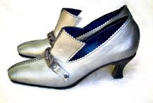 Kitz / This shoe was commissioned by a friend for a gift for his beloved wife. Several different trims allow the shoe to move from day to night time wear.