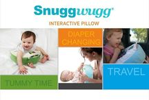 Snuggwugg Baby Pillow - diaper changing, tummy time, travel videos / Hi :) this is a collection of Videos from Snuggwugg an interactive baby pillow that solves diaper changing problems. Also great for tummy time , traveling with toddlers, grocery shopping, as a smartphone pillow and more. Add baby toys to loops or flashcards visit us at www.snuggwugg.com #madebymoms #babyshowergift #uniquebabyshowergift #babypillow