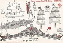 papercraft barcos