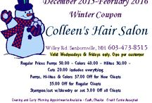 Colleen's Hair Salon / Colleen's Hair Salon has great prices and 32 years of quality professional customer service. Complimentary hot or cold beverage with a delicious homemade treat. Piano music and Victorian setting. We'd love to see you soon!