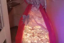 Bibi / kerst engel zelf gemaakt