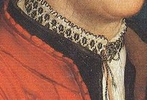 partlets, chemises, collars and cuffs