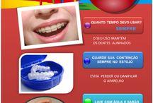 Ortodontia - Centro Cívico - Curitiba / As últimas novidades em tratamentos com aparelhos (ortodontia), melhora da face. Cuidados especiais durante o tratamento ortodôntico, Curiosidades