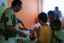 Una Mano Amiga hace labor social en Michoacán / Voluntarios ayudando a los niños del orfanato en Michoacán.                     !Hoy mañana y siempre por ellos