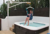 Hot tubs with hoists / Don't miss out on luxury during your holiday, check out our properties that have hoist access to the hot tub!