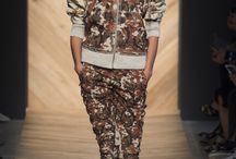 MFW Recap: Wild Prints / Animal print patterns also made their appearance on the MFW runways for the Spring 2016 Season. Milan Fashion Week, h-a-l-e.com