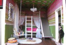 Playroom Lofts, Swings, & Slides / by Leanne Inskeep