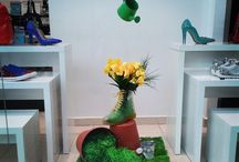 Visual merchandising / Shop window decorations