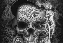 skull art / skull art