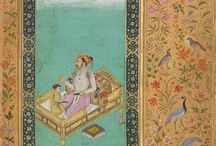 Indian, Mughal and Persian miniature Painting / by Fatima Zahra (ZAHRA) Hassan