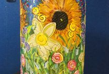 Rain Barrel Designs / Rain barrels are a great, effective tool to recycle rain water - but they sure don't have to be boring! Decorate your barrel to match your personality.