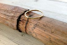 Vintage and Modern Style Wedding Ring
