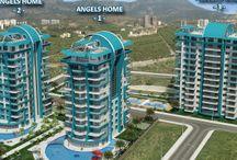 Дом Ангелов, Махмутлар, Алания. Maiıbu Invest Real Estate / Роскошные апартаменты 1+1 и 3+1 в Махмутларе, Алании. Всего 350 метров от от пляжа и 500 метров от центра города. Отличная возможность для инвестирования в дом вашей мечты в Алании, Турции