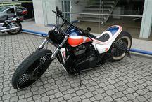 Motocicleta personalizada para Rubens Barrichello