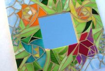Mosaic mirrors and other progects