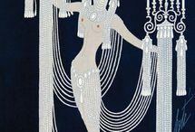 Erte / Romain de Tirtoff (Russian, 1892-1990), father of Art Decò