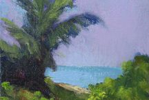 Art - My Paintings of the Coast, Ocean, Dunes, etc. / This board will focus on my paintings of the ocean, waves, sand dunes, palm trees, etc. I paint in pastel and also in oil. There will be some that I take to a gallery... but some may only be available on my website, Etsy or my Daily Paintworks site. So, many of these will have a link that will take you to a page where you can purchase it, or see more like it.