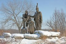 Lewis and Clark / Seaman, the Newfoundland owned by Lewis and Clark was the greatest canine explorer in American history - he is celebrated in story, song and memorial around the country
