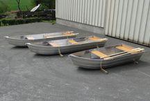 Barque de pêche Modèles au nez pointu