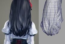 3dcg hair