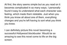 FAVE REVIEWS.  / What keeps a writer... writing!
