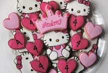 Hello kitty cookies / by Kitty White