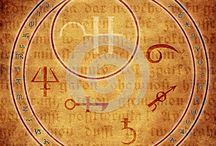 Alchemy / Symbols, metals, text, tools and altered art inspirations for Threads of Time project