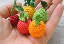 Gehaakt haak kleine  patroonfruit
