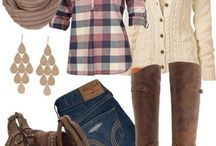 Fall Outfit Ideas / by Lacie Followwell