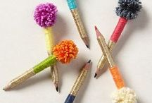 pens, books and stuff / by Michelle Hayward Venter