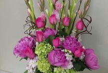 Květinové vazby do kostela