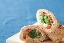 Wraps sandwiches quesadillas / by Julie Richardson