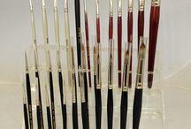 Pinceles GRIMAS / Diferentes clases de pincelería