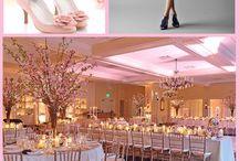 Esküvő - Cseresznyevirág téma