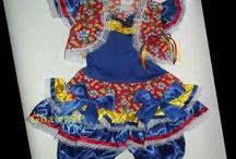 vestido junina