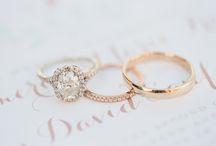 Zásnubní a snubní prsteny