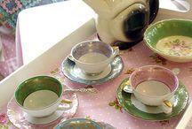 Tea cups/ Tea pots / by Nikki Clore-Bell