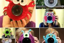 Crochet camera lens / by Vicki Loch Staggs