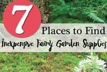 fairy garden / by Nina Munson-vanvalkenburg